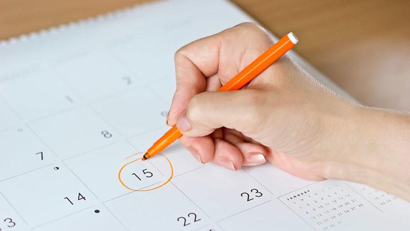 Ovulyatsiya kunini aniqlash kalendari